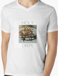 Holy Crêpe Mens V-Neck T-Shirt