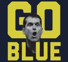 Jim Harbaugh GO BLUE T-Shirt