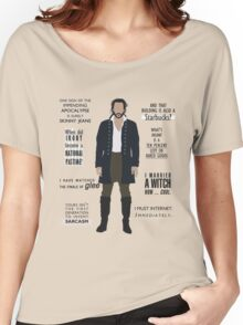 ICHABOD CRANE QUOTES Women's Relaxed Fit T-Shirt