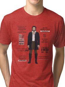 ICHABOD CRANE QUOTES Tri-blend T-Shirt