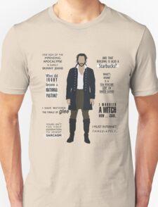 ICHABOD CRANE QUOTES Unisex T-Shirt