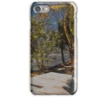 White Chairs on the Water iPhone Case/Skin