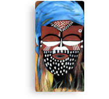 Ngady aMwaash Mask  Canvas Print