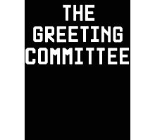 The Greeting Committee (John Lennon) Photographic Print