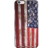 USA Flag - State Pallets iPhone Case/Skin