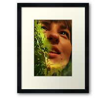 Sweet touch Framed Print