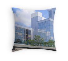 Skypark Office Building Throw Pillow