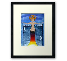 Keeper of the Stars (Justice) Framed Print