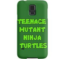 Teenage Mutant Ninja Turtles Words Samsung Galaxy Case/Skin
