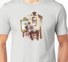 Triple Cornetto Portrait Unisex T-Shirt