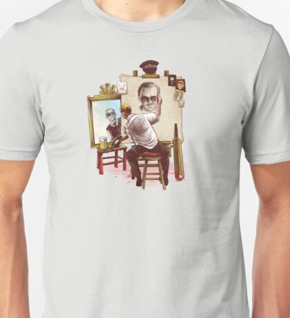 Triple Cornetto Portrait Unisex T-Shirt