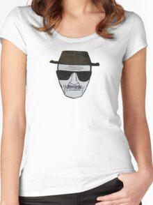 Heisenberg Breaking Bad T-Shirt Women's Fitted Scoop T-Shirt