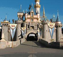 Sleeping Beauty Castle by princesskoko