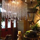 Another shot of chandelier at Bliss Home and Design by SizzleandZoom
