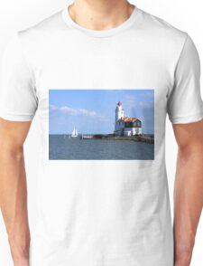 Sailing Around The Lighthouse Unisex T-Shirt