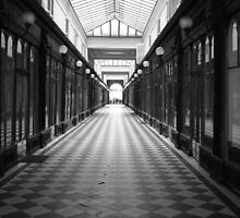 Light at the end of the passage. by Nico3