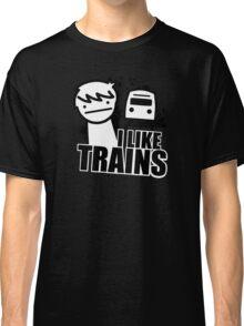 ASDF T-Shirt I Like Trains  Classic T-Shirt