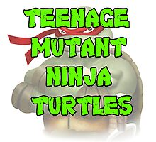 Teenage Mutant Ninja Turtles Raphael Photographic Print