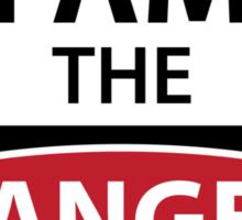 Breaking bad - I Am The Danger! Sticker