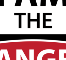 Breaking bad - I Am The Danger! Sticker