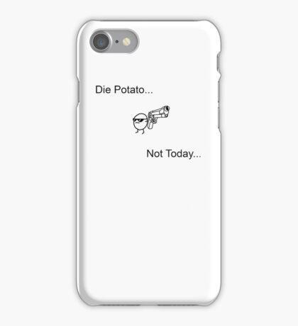 Die Potato ASDF T-Shirt iPhone Case/Skin