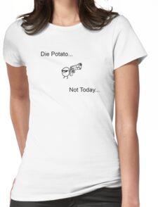 Die Potato ASDF T-Shirt Womens Fitted T-Shirt