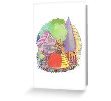 Crinoline Lady  Greeting Card