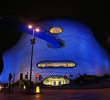 Selfridges at Night by Mark Durant