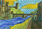 118 - DURHAM DESIGN 1 - DAVE EDWARDS - WATERCOLOUR - SEP 2003 by BLYTHART
