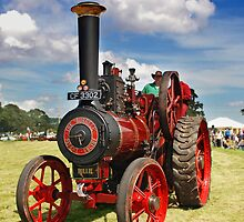 Traction Engine by Escy