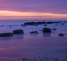 Spurn Point at Dawn by Martin Fuge