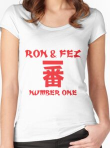 Ron and Fez Ichiban Women's Fitted Scoop T-Shirt