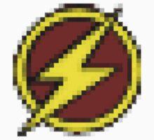 8-Bit Flash Logo One Piece - Short Sleeve