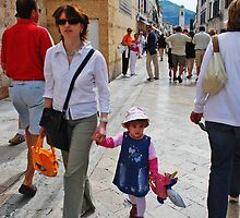 Mother & Child Dubrovnik, Croatia by Marylamb