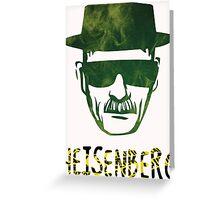Heisenberg - Breaking Bad Greeting Card