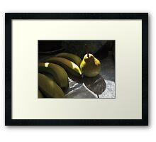 A Fruitful Meeting Framed Print