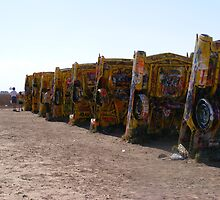 Cadillac Ranch Tribute by greeneyedlady