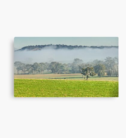 Foggy Layer Canvas Print