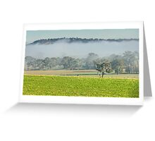 Foggy Layer Greeting Card