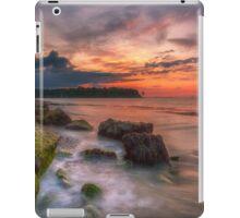 Rocky Beach Sunset iPad Case/Skin