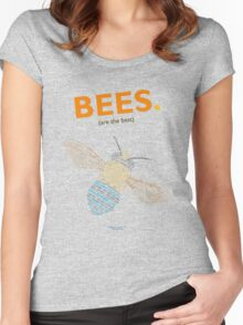 The Blue Banded Bee Women's Fitted Scoop T-Shirt
