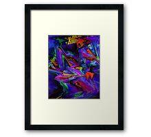 Color Journey Framed Print