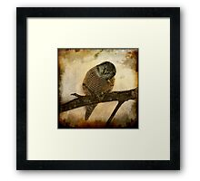 Whispered in the sounds of silence Framed Print