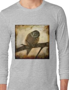 Whispered in the sounds of silence Long Sleeve T-Shirt