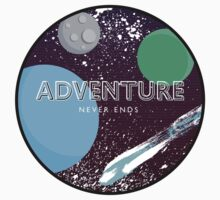 Adventure Never Ends One Piece - Long Sleeve