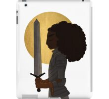 Heart of a Lioness iPad Case/Skin
