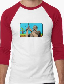 Duck hunting on Shabbos (Digital Duesday #1) Men's Baseball ¾ T-Shirt