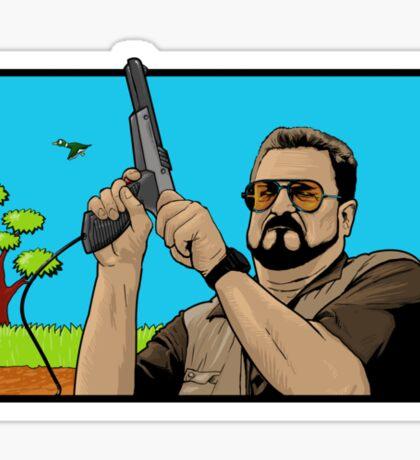 Duck hunting on Shabbos (Digital Duesday #1) Sticker