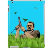 Duck hunting on Shabbos (Digital Duesday #1) iPad Case/Skin
