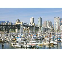 View From Granville Island Photographic Print